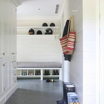 Cottage, laundry room, Wettling Architects