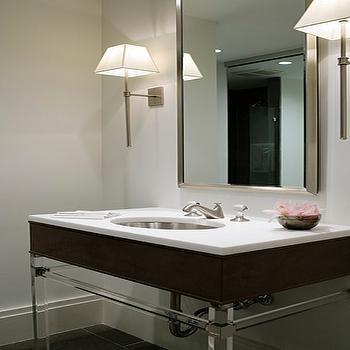 Luicte Bathroom Vanity, Contemporary, bathroom, Beth Webb Interiors