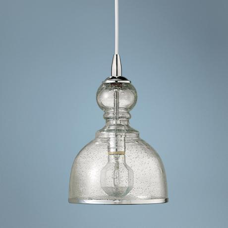 Jamie young st charles clear glass pendant chandelier for Jamie young lighting pendant