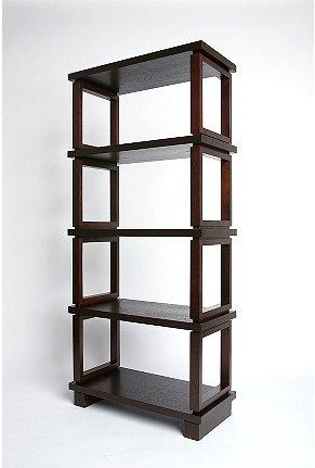 Acrylic Leaning Book Shelves - Wisteria