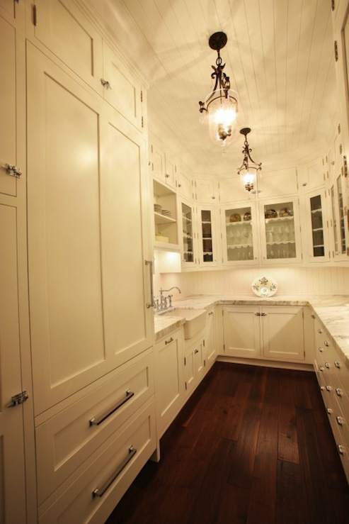 Butler 39 s pantry ideas transitional kitchen signature for Butlers kitchen designs