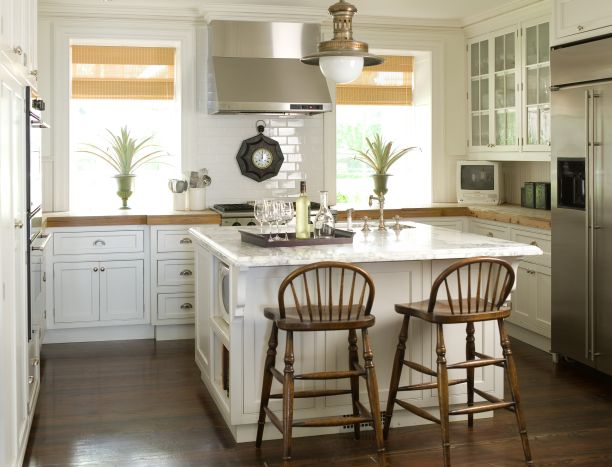 small square kitchen island farmhouse kitchen cabinets country kitchen phoebe howard 5559