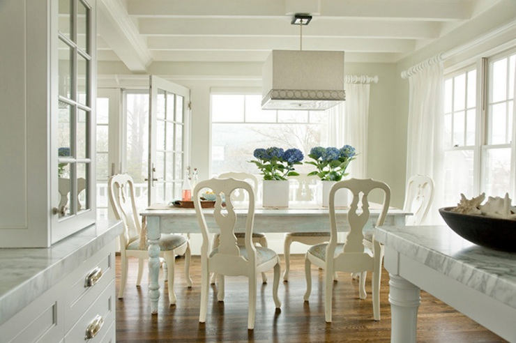 Swedish Chairs - Cottage - dining room - Molly Frey Design
