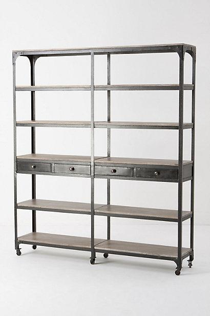 decker double bookcase tall