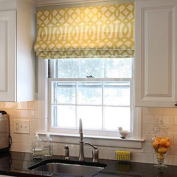 Kitchen Roman Shade Design Ideas
