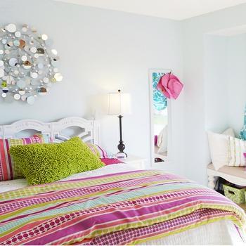 Light Blue Girl Bedroom Paint Colors Design Ideas - Light blue girl bedrooms