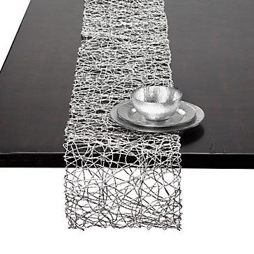 Z Gallerie   Silver Nest Runner