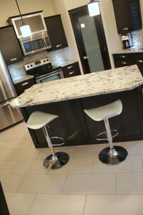 Bianco Antico Granite Contemporary Kitchen Urban Theory