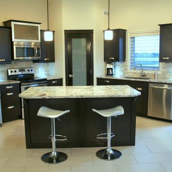 Bianco Antico Granite, Contemporary, kitchen, Urban Theory Interior Design