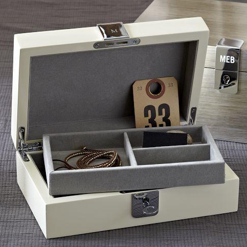 Threshold Silver Dot Medium Jewelry Box