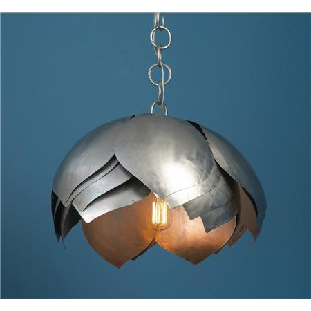 Metal Lotus Pendant Shades Of Light