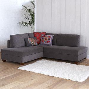 Gray Wyatt Sectional Sofa. Worldmarket.com