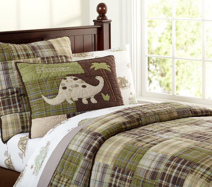 Boy S Room With Pottery Barn Kids Madras Quilt