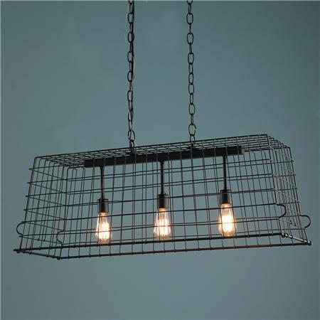 Wire Chic Island Chandelier - Shades of Light