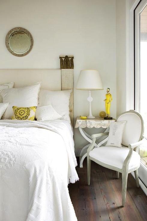 Yellow Accents Transitional Bedroom Atlanta Homes