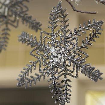 Metallic Snowflake Tealight Holder, Pottery Barn