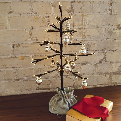 Littlest Lit Tree, Christmas, Olive & Cocoa