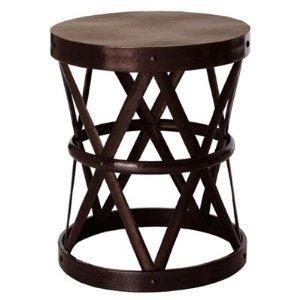 Lovely Amazon.com: Arteriors   6287   Costello Iron Accent Stool   Table: Home U0026  Garden