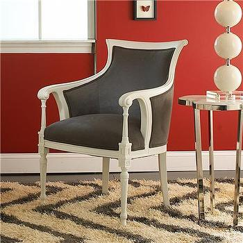 Louis Regency Arm Chair, Shades of Light
