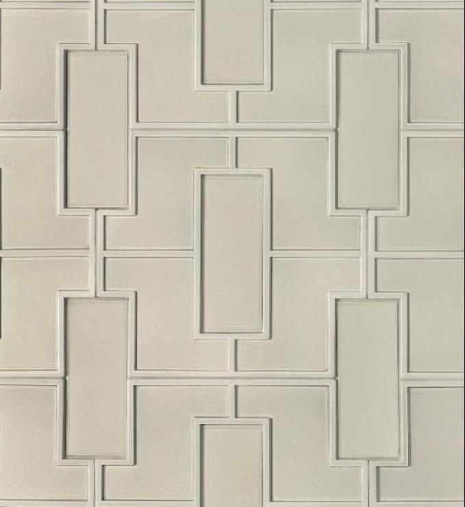 walker zanger studio modern fretwork tiles