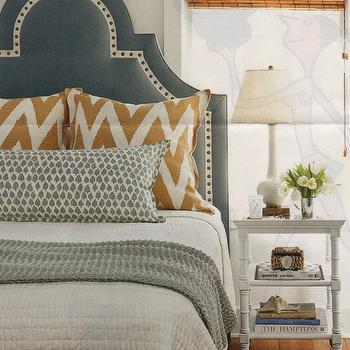 Studded Headboard Design Ideas
