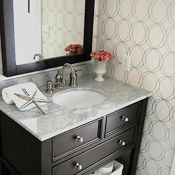 Costco marble top and espresso vanity design ideas for Espresso bathroom ideas