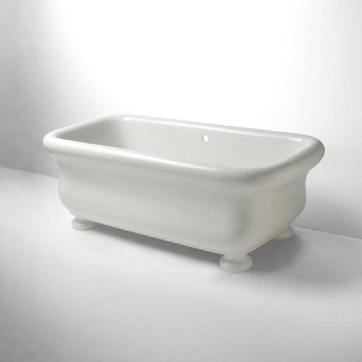 Freestanding Rectangular Bathtub 71