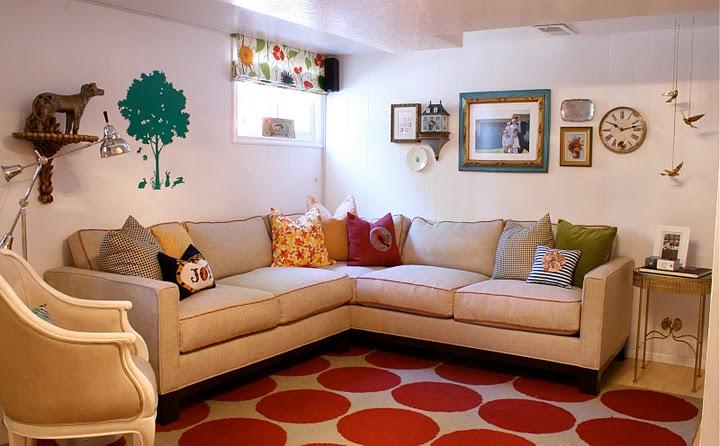Basement Playroom Eclectic Basement Alice Lane Home