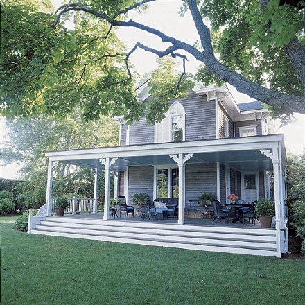 Home exterior for Homes with large porches