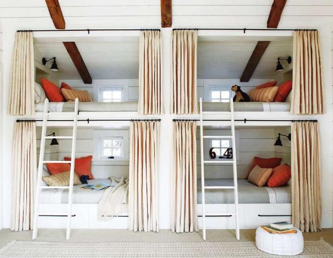Built In Bunk Beds Cottage Boy S Room Kristen