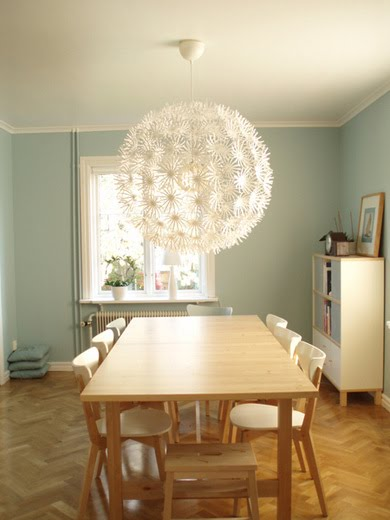 Ikea Chandelier Vintage Dining Room
