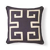 Gump's greek key pillow