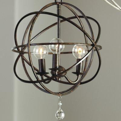 petite orb chandelier lighting ballard designs