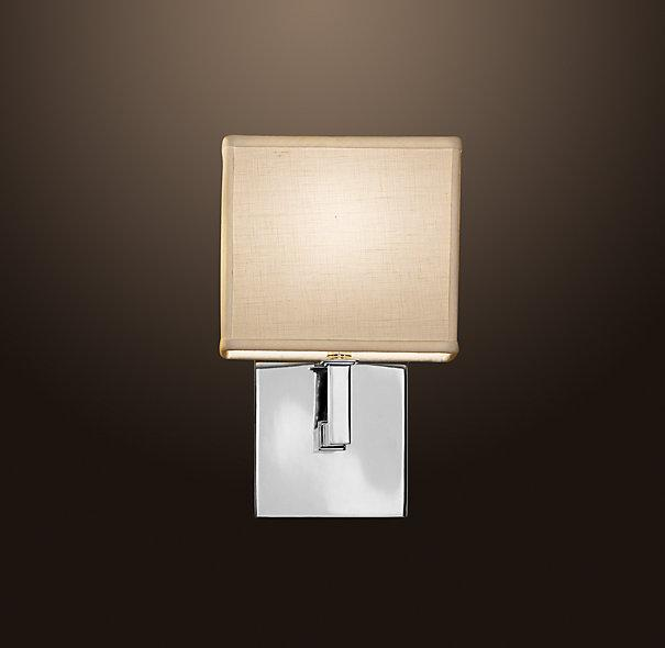 Bathroom Wall Sconces Restoration Hardware : Nolan Single Sconce - Bath Sconces - Restoration Hardware