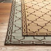 Gump's moroccan tiles rug