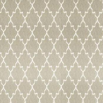 Indochine Ikat Stone Fabric by the Yard, Ballard Designs