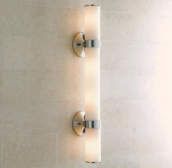 Sutton grand sconce bath sconces restoration hardware Restoration bathroom lighting