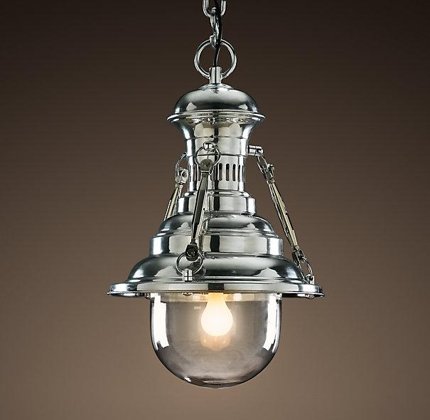 Restoration Hardware Light Fixture Sale: Rotterdam Industrial Dock Pendant