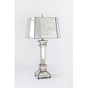 Hilton Antique Mirror Lamp By Worlds Away