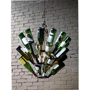 Bubbles Glass Modern Chandelier Solaria Large Light Dining