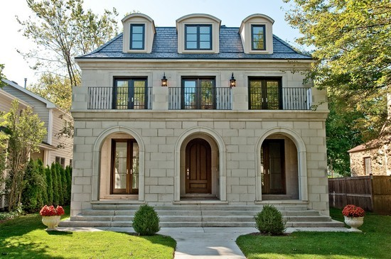 Limestone home exterior french home exterior for Beautiful home exteriors