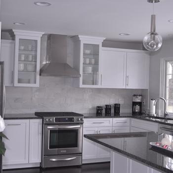 steel gray granite design ideas. Black Bedroom Furniture Sets. Home Design Ideas