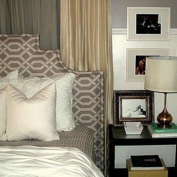 Trellis Headboard, Transitional, bedroom, The Hunted Interior