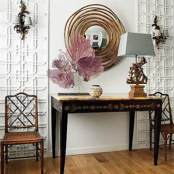 Chinese Chippendale Chair, Eclectic, dining room