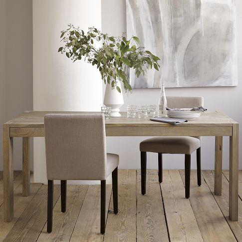 White West Elm Dining Table