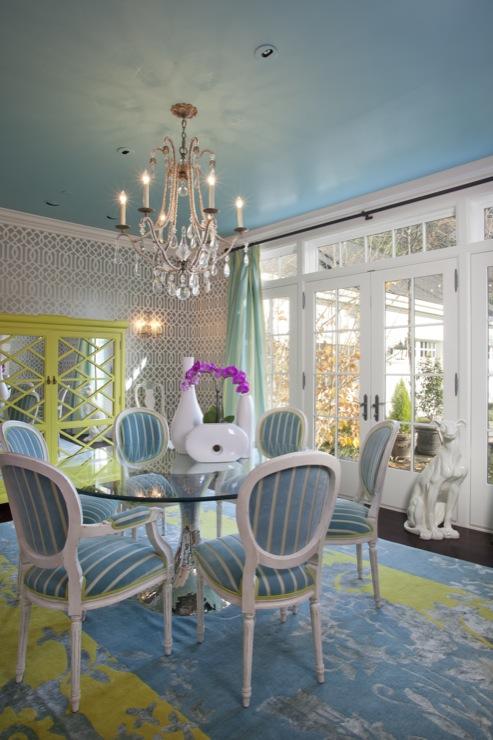 Turquoise Dining Room Design Ideas