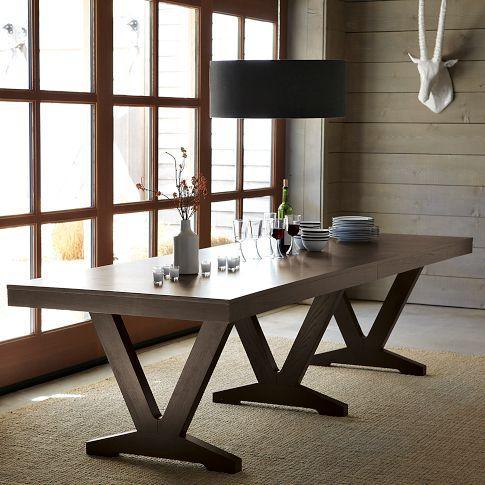varick dining table west elm. Black Bedroom Furniture Sets. Home Design Ideas