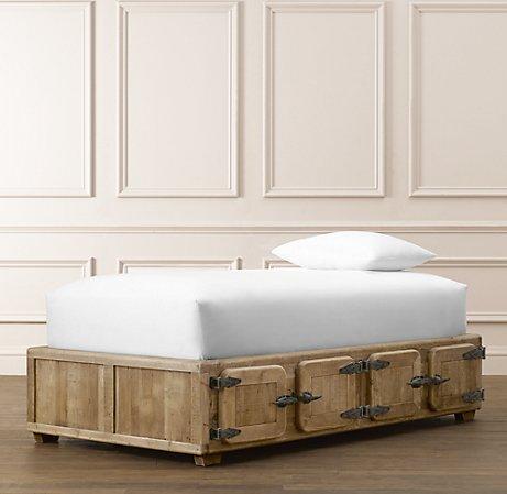Durant Locker Storage Bed 8 Door Beds Amp Bunk Beds