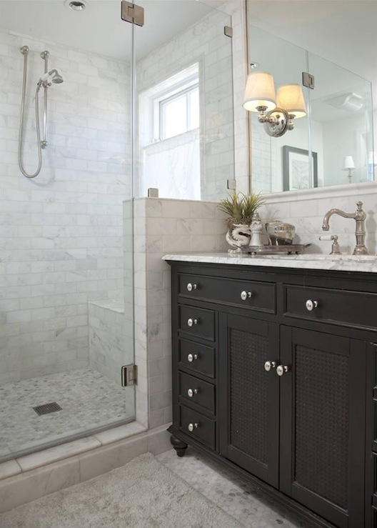 Bathroom Shower Hardware : Restoration Hardware Bathroom Vanity - Transitional - bathroom