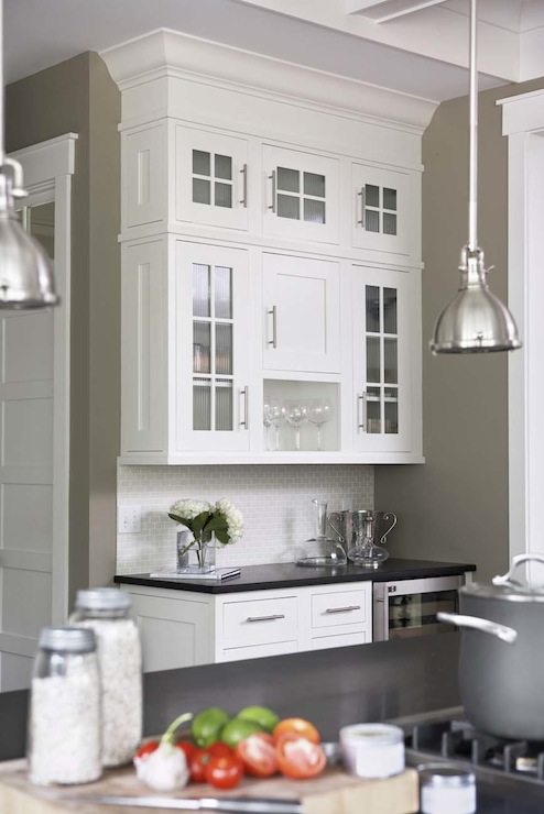 Mini Yoke Pendants Transitional Kitchen Sherwin